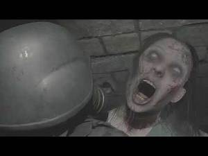 RESIDENT EVIL 2 REMAKE Gameplay - The 4th Survivor - Hunk Zombie Death ( Angle )