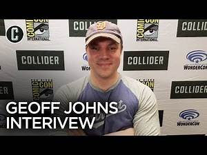 Geoff Johns Talks Wonder Woman 1984, Man of Steel 2, Aquaman, Green Lantern Corps and More