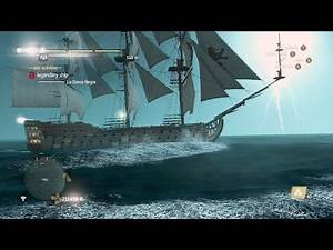 Assassin's Creed IV Black Flag - La Dama Negra 'Devil Of The Caribbean' achievement [HD]