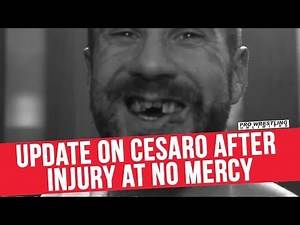 Update On Cesaro After Injury At No Mercy