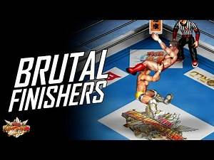 FPWW PS4 - Top 15 Finishers! (Fire Pro Wrestling World PlayStation 4)