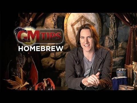 Creating Homebrew Content in RPGs! (GM Tips w/ Matt Mercer)