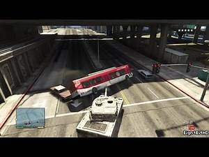 GTA 5 100 TonsTank Rampage #7 HD Grand Theft Auto 5
