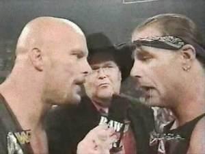 WWF Raw: Owen Hart & Brittish Bulldog Challenge Stone Cold & Shawn Michaels May 19th, 1997