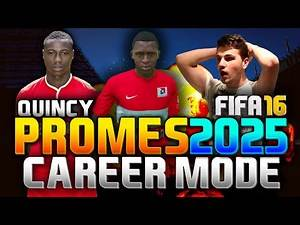 FIFA 16 | QUINCY PROMES IN 2025!!! (CAREER MODE)
