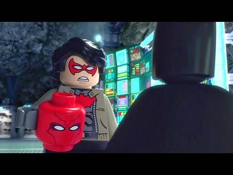 Redhood reveals scene - Lego Batman Family Matters