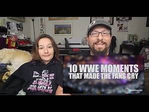 WWE Moments that Made Fans Cry Reactions (ft My Indifferent Wife)