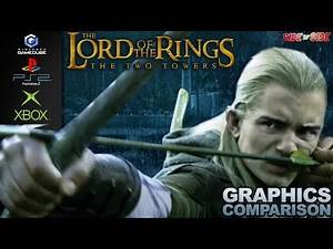 The Lord of the Rings The Two Towers | Graphics Comparison | ( GameCube , Ps2 , Xbox )