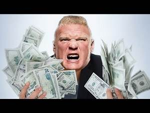 THE SHOCKING AMOUNT OF MONEY BROCK LESNAR GETS PAID IN WWE!