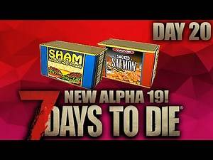 THE ROTTEN SANDWICH FACTORY - 7 Days to Die - Alpha 19 (Day 20)