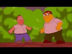Family Guy - Peter Griffin vs Homer Simpson und Roger ist auch dabei !! Deutsch