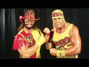 Hulk Hogan & Macho Man Randy Savage Oh yeah