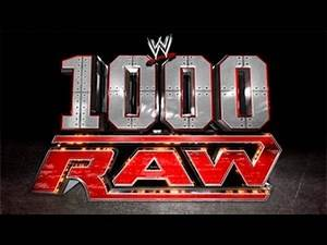 Celebrate The 1000th Episode Raw - Next Monday! ᴴᴰ