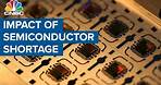 Breaking down the semiconductor shortage hitting several industries