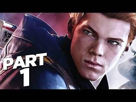 STAR WARS JEDI FALLEN ORDER Walkthrough Gameplay Part 1 - INTRO (FULL GAME)