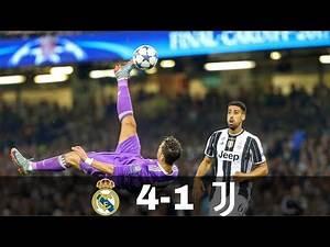 Real Madrid vs Juventus 4-1 | Cinematic Highlights