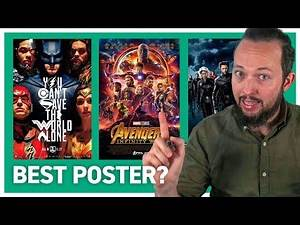 Superhero Posters Ranked by Graphic Designer
