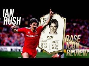 BEST ICON STRIKER IN FIFA 20? 87 RATED BASE ICON IAN RUSH PLAYER REVIEW ULTIMATE TEAM!