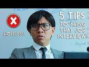 LIFE HACKS: 5 TIPS TO ACING A JOB INTERVIEW/MEETING | Vlog #210