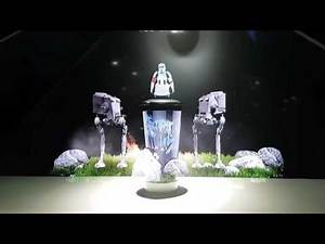 Star Wars Rogue One 3D Hologram Display
