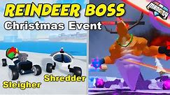 Mad City REINDEER BOSS Christmas Event: Gifts & Winter Map