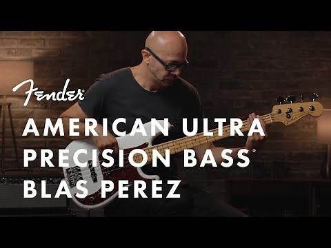 Blas Perez Plays The American Ultra Precision Bass | American Ultra Series | Fender