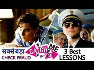 [हिंदी] 3 best lessons from movie ✓ Catch me if you can   Frank William Abagnale