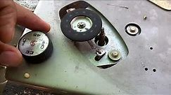 turntable record player idler wheel DIY