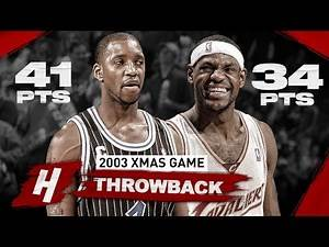 When 18 Yr-OLD LeBron James FACED PRIME Tracy McGrady! EPIC XMAS Duel Highlights | December 25, 2003