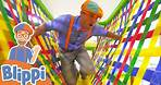 Learning With Blippi At An Indoor Playground For Kids   Educational Videos For Toddlers