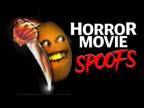 Annoying Orange - Horror Movie Spoofs Supercut! #Shocktober