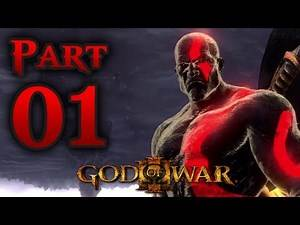 God Of War III 3 - Poseidon (Fear Kratos)