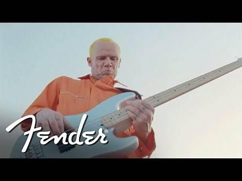 "Flea Performs ""Maggot Brain"" on his Signature Active Jazz Bass | Artist Signature Series | Fender"