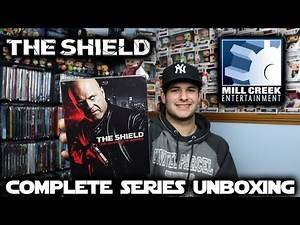 The Shield Complete Series Blu-ray Unboxing!