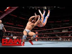 Jason Jordan vs. Curt Hawkins: Raw, July 24, 2017