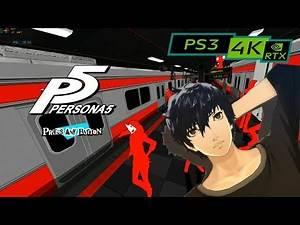 P5 Persona 5 / 4K PS3 emulator RPCS3 / RTX 2080ti