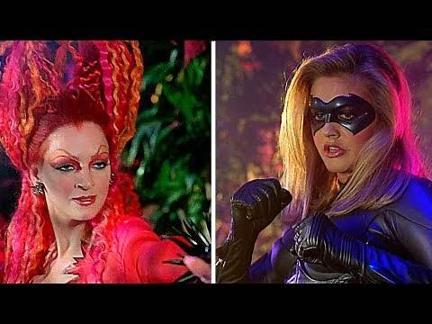 Poison Ivy vs Batgirl | Batman & Robin