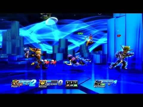 PlayStation All-Stars Battle Royale - Jak vs. Ratchet vs. Sly Cooper