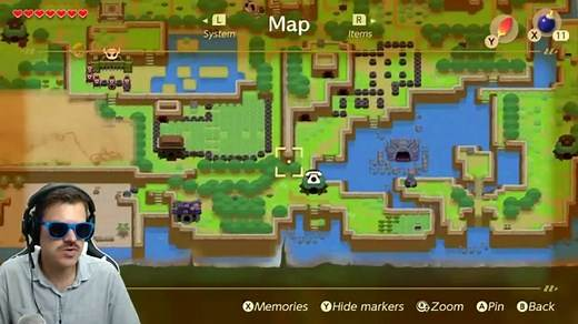 Zelda Links Awakening- How to Find the Desert and Get Around Walrus
