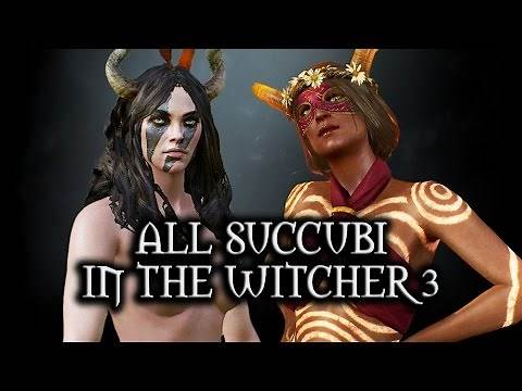 The Witcher 3: Wild Hunt - All Succubi in The Witcher 3