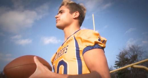 Star high school football player comes out