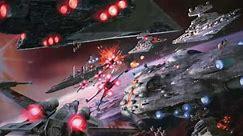 Star Wars Ambience Space Battle Background (X Wing, Tie Fighter, Star Destroyer Sound Effe
