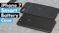 Apple iPhone 7 Smart Battery Case Review!