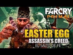Far Cry Primal | Easter Egg | Assassin's Creed | El primer Salto de Fé de la historia | Español