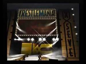 WWE Wrestlemania X8 Gamecube Entrances