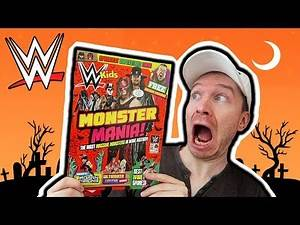 WWE KIDS MAGAZINE HALLOWEEN SPECIAL REVIEW!