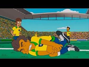 The Simpsons - The greatest master of the fake injury soccer has ever know