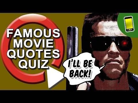 Movie Quiz   Famous Movie Quotes