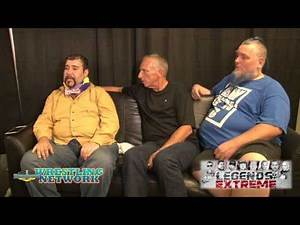 Bill Alfonso and the flaming chair on Legends of Extreme
