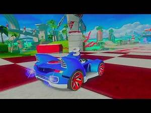 Sonic & Sega All Star Racing Transformed PT 4 ENDING (PS VITA)